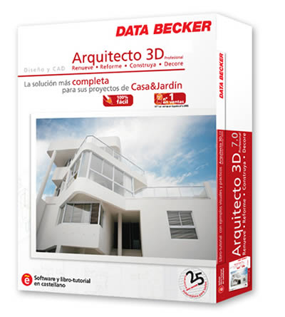 Data becker arquitecto 3d profesional v4 la soluci n m s for Diseno de interiores 3d data becker