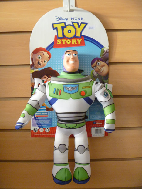 peluche toy story buzz lightyear new toys www alien tech. Black Bedroom Furniture Sets. Home Design Ideas